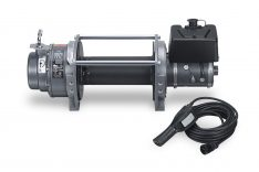 Warn 30289 Series 12 DC Industrial Winch 12000 lbs./5440 kg 12V DC Motor Anti-Clockwise -0