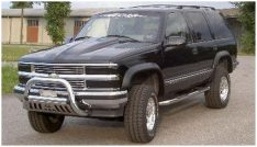 1999-1999 Chevrolet Tahoe LT Front and Rear Extend-A-Fender(R) Set Fender Flare-0