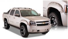 2007-2013 Chevrolet Avalanche Front and Rear Pocket Style(R) Fender Flare-0