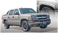 2003-2006 Chevrolet Avalanche 2500 Front and Rear Pocket Style(R) Fender Flare-0
