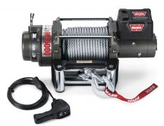 Warn 47801 M15000 Self-Recovery Winch 15000 lb./6804 kg 12V DC Motor w/Roller Fairlead 90 ft. Wire Rope Safety Hook CE Compliant -0