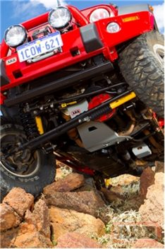 2007-2011 Jeep Wrangler Belly Pan Skid Plate-0