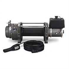 Warn 65932 Series 15 DC Industrial Winch 15000 lbs./6818 kg 24V DC Motor Anti-Clockwise -0