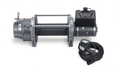 Warn 66032 Series 15 DC Industrial Winch 15000 lbs./6818 kg 12V DC Motor Anti-Clockwise -0