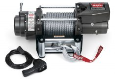 Warn 68801 16.5ti Thermometric Self-Recovery Winch 16500 lb./7484 kg 12V DC Motor w/Roller Fairlead 90 ft. Wire Rope CE Compliant -0