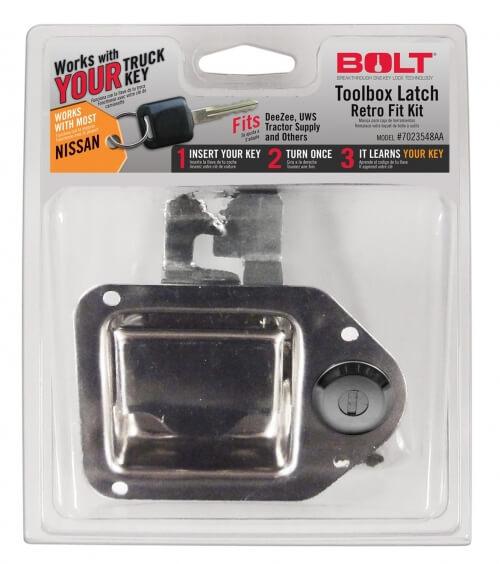 Bolt Locking Tool Box Latch 7023548-0