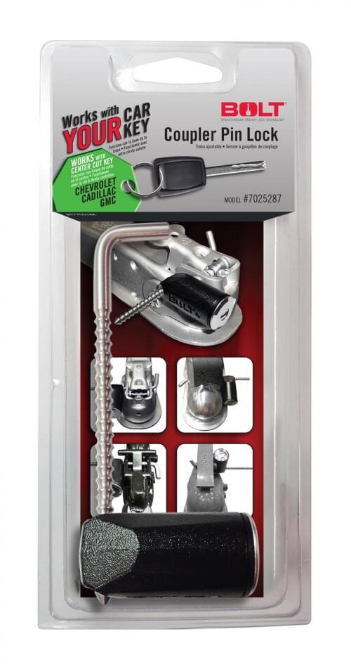 Bolt Coupler Pin Lock GM Center Cut 7025287-0