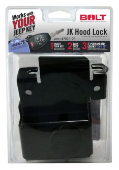Bolt Hood Lock Clamshell Packaging 7026128-0