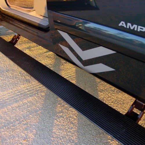AMP Research 75110-01A PowerStep(TM) Black Incl. Light Kit Incl. OEM Style Illumination-27176