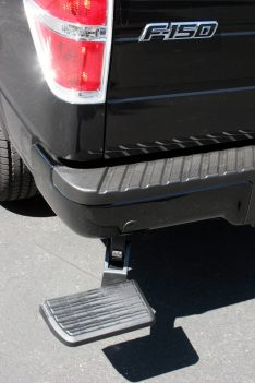 AMP Research 75302-01A BedStep(R) Black Rear Bumper Access -0