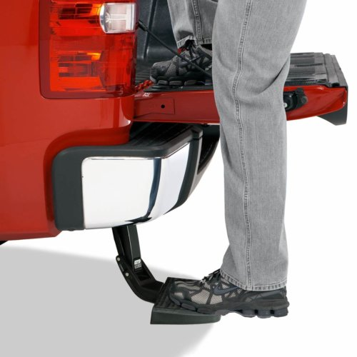 AMP Research 75304-01A BedStep(R) Black Rear Bumper Access -27223