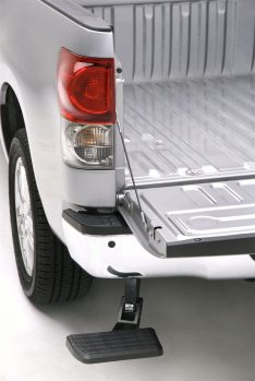 AMP Research 75305-01A BedStep(R) Black Rear Bumper Access -0