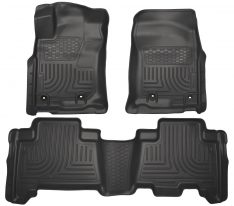 Husky Weatherbeater Series Front & 2nd Seat Floor Liners (Footwell Coverage) 99571-0