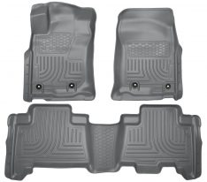 Husky Weatherbeater Series Front & 2nd Seat Floor Liners (Footwell Coverage) 99572-0