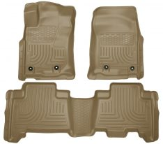 Husky Weatherbeater Series Front & 2nd Seat Floor Liners (Footwell Coverage) 99573-0