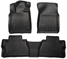Husky Weatherbeater Series Front & 2nd Seat Floor Liners (Footwell Coverage) 99581-0