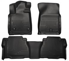 Husky Weatherbeater Series Front & 2nd Seat Floor Liners (Footwell Coverage) 99591-0