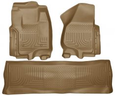 Husky Weatherbeater Series Front & 2nd Seat Floor Liners (Footwell Coverage) 99713-0