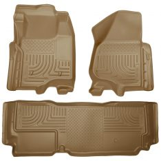 Husky Weatherbeater Series Front & 2nd Seat Floor Liners (Footwell Coverage) 99723-0