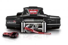Warn 92820 ZEON Platinum™ 12 Winch 12000 lb./5443 kg. Single Line Roller Fairlead 12V DC Motor 80 ft. Wire Rope w/Wireless Remote -0