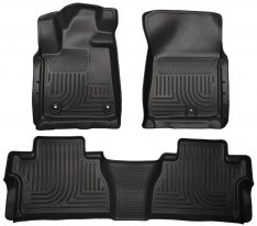 Husky Weatherbeater Series Front & 2nd Seat Floor Liners (Footwell Coverage) 99561-0