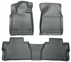 Husky Weatherbeater Series Front & 2nd Seat Floor Liners (Footwell Coverage) 99562-0