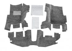 1999-2006 Jeep Wrangler Unlimited Rubicon BedRug(R) Floor Kit Floor Liner-0