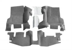 1999-2006 Jeep Wrangler Rubicon BedTred(R) Floor Kit Floor Liner-0