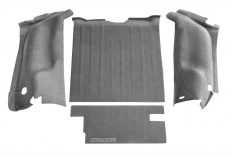 1999-2006 Jeep Wrangler 65th Anniversary Edition BedTred(R) Cargo Kit Floor Liner-0