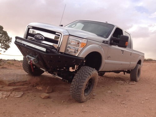 2011-2015 Ford F-250/350 Super Duty Stealth Front Bumper-0