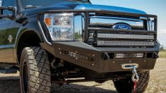 2011-2015 Ford F-250/350 Super Duty HoneyBadger Rancher Front Bumper-0