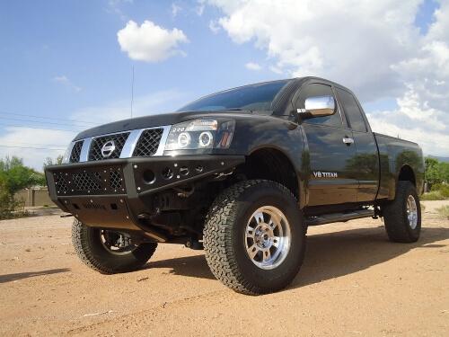 2004-2014 Nissan Titan Venom Front Bumper-0