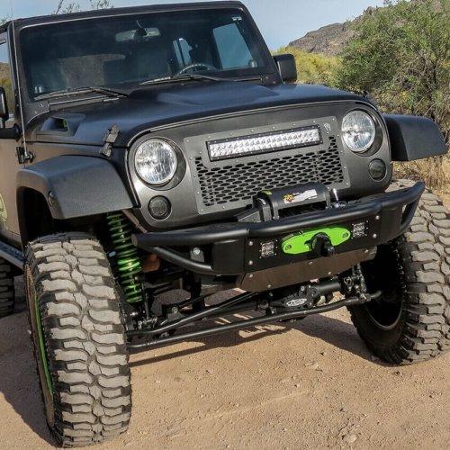 2007-2016 Jeep Wrangler Sport Venom Front Bumper-0