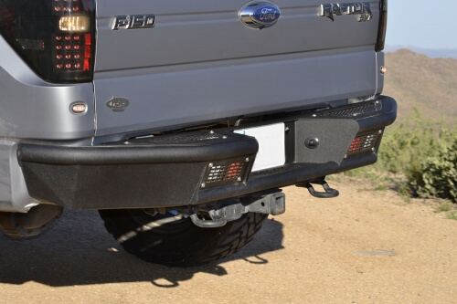 2009-2014 Ford F-150 Limited Stealth Fighter Rear Bumper-0