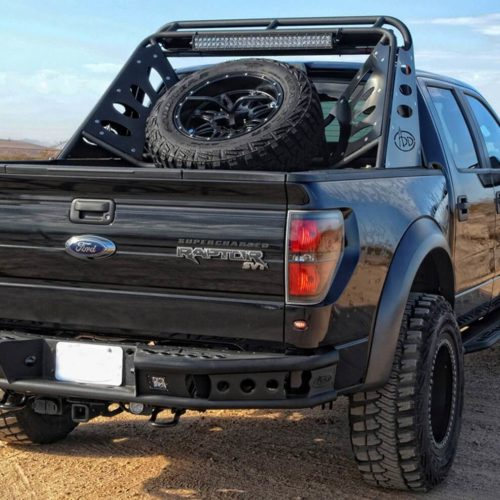 2009-2014 Ford F-150 Limited Dimple R Rear Bumper-24018