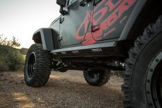 2007-2015 Jeep Wrangler Sport Stealth Fighter Side Steps-0