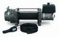 Warn 30290 Series 12 DC Industrial Winch 12000 lbs./5440 kg 24V DC Motor Anti-Clockwise -0