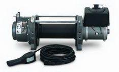 Warn 30279 Series 9 Hydraulic Industrial Winch 9000 lbs./4091 kg 3.0 cu in. Motor Anti-Clockwise -0