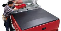 Extang 40905 Full Tilt Snapless Tonneau Tool Box 60.3 inch bed Fleetside Tonneau Cover-0