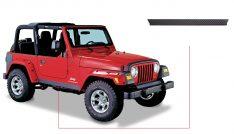 Bushwacker 14002 Bushwacker Trail Armor Rocker Panels Jeep Wrangler-0