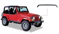 Bushwacker Jeep Trail Armor Rear Corner Pair-0