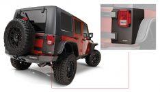 Bushwacker Jeep Trail Armor Hood Scoop-0