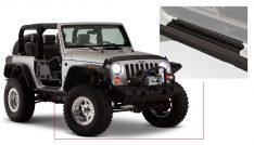 Bushwacker Jeep Trail Armor Hood Stone Guard-0