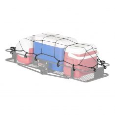 CURT Roof Mounted Cargo Rack Net-0