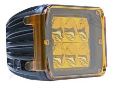 Protective Polycarbonate Cover - Dually/D2 - Amber -0