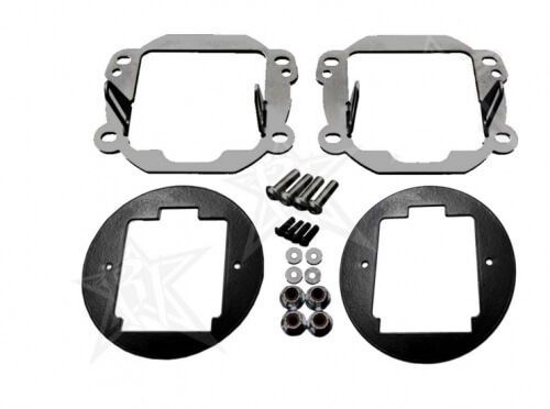 Fog Light Kit-Mounts set of Dually/D2-0