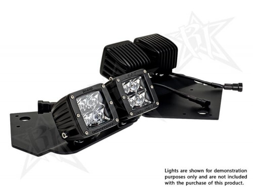Fog Light brackets-Mounts 4 Dually/D2 lights-0