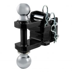 CURT Dual-Ball And Clevis Bar Mount-0