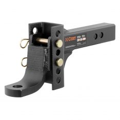 CURT Channel Style Adjustable Ball Mount Tongue-0