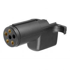 CURT 6-Way Round To 4-Way Flat Wiring Adapter-0
